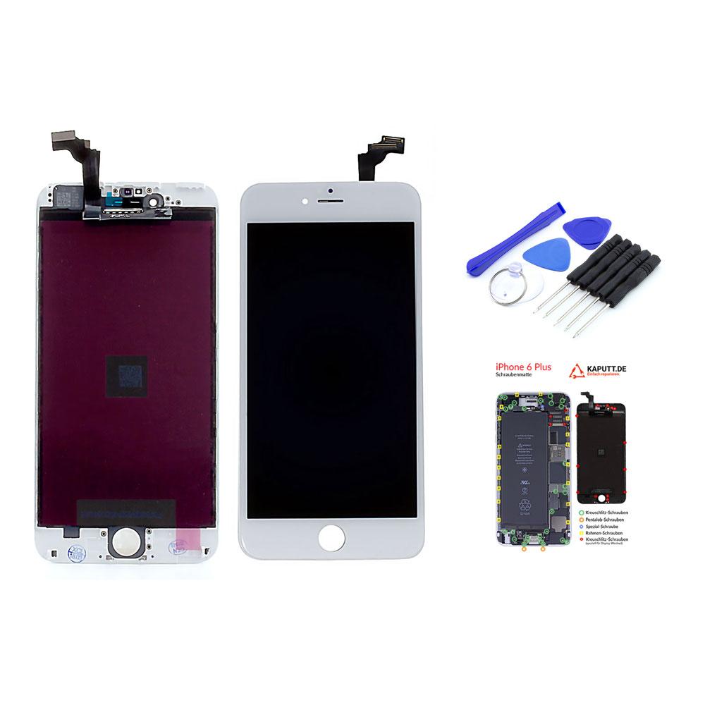 iphone 6 plus display wei set kaufen shop. Black Bedroom Furniture Sets. Home Design Ideas