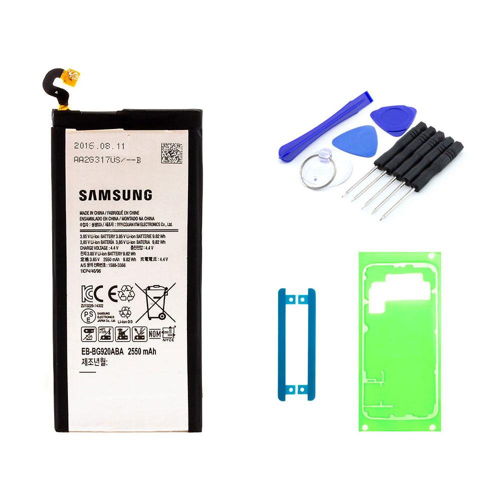 Austausch Akku Batterie Wechsel Samsung Galaxy S6