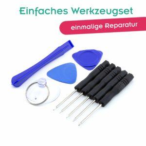 Einfaches Werkzeugset für die Handy-Reparatur